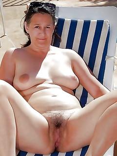 Hairy Nudist Family Pics