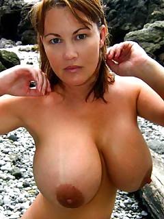 Big Boobs On Beach Pics
