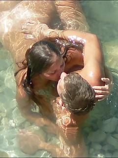 Nudist Couples On Beach Pics